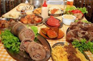 festa da colônia de Gramado comidas