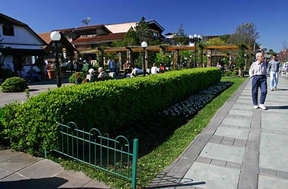 atrações em gramado praça major nicoletti