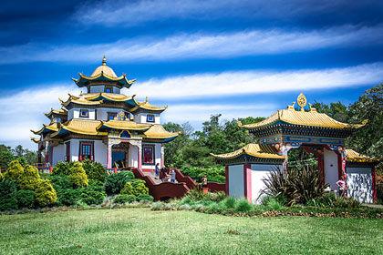 atrações templo budista tres coroas